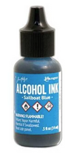 Tim Holtz Alcohol Inks, Alcohol Pearls & Mixatives (.5 oz Bottles)