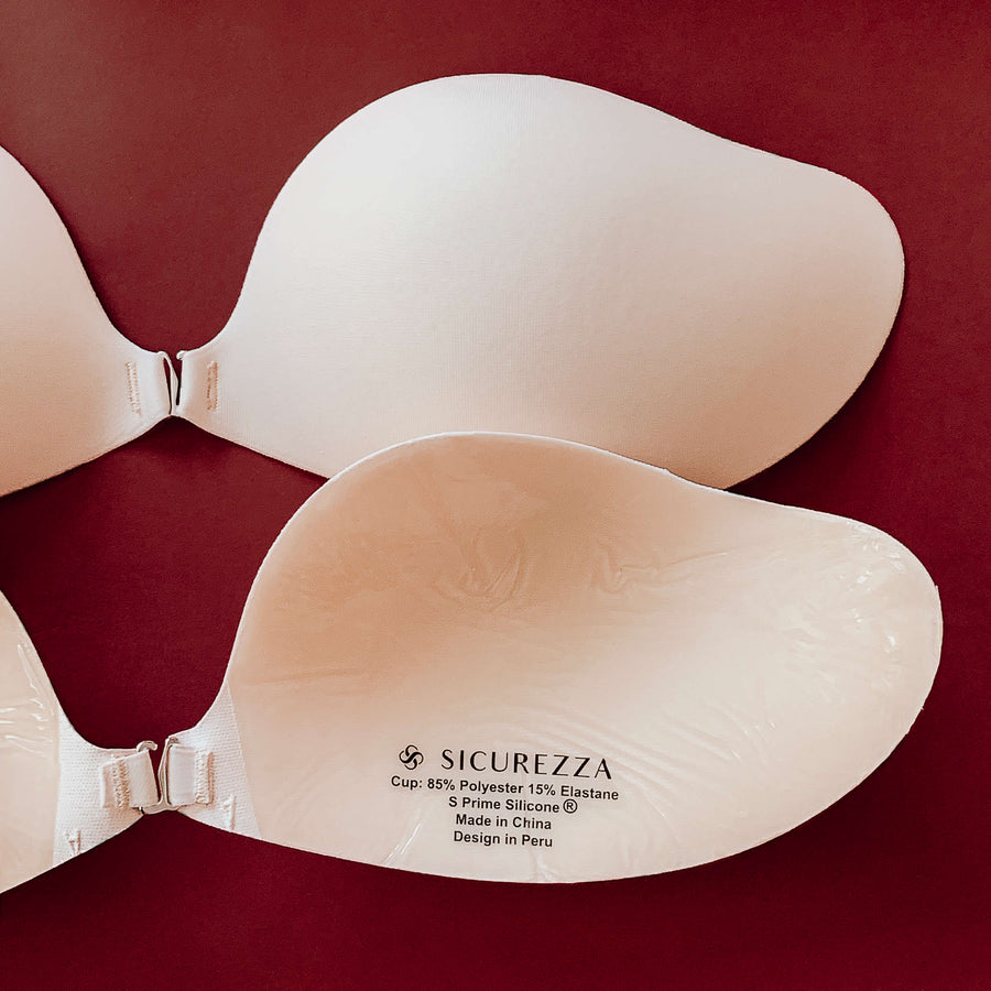 New Invisible Bra Beige Sicurezza
