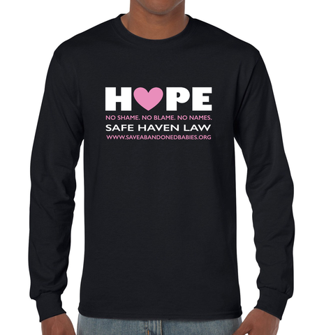 """Hope"" Classic Long-Sleeve T-Shirt"