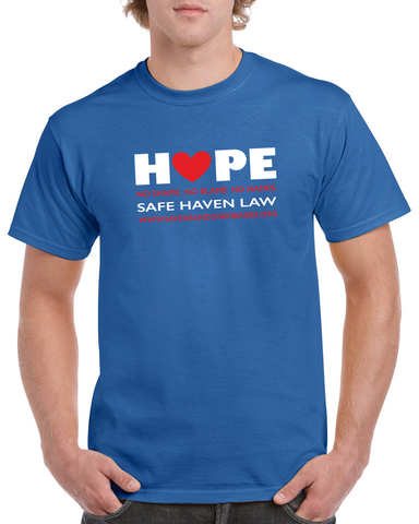 "Limited Edition Cubs-Inspired ""Hope"" Basic Short-Sleeve T-Shirt"