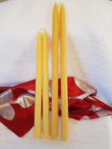 Tapered Pure Beeswax CandleCandles- Barriault Ranch
