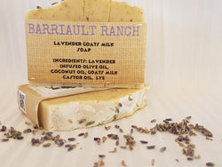 Lavender Goats Milk SoapSoaps- Barriault Ranch