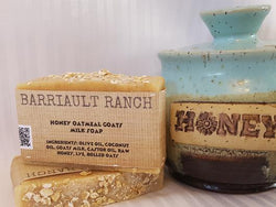 Honey Oatmeal Goats Milk SoapSoaps- Barriault Ranch