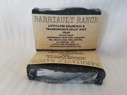 Activated Charcoal Goats Milk SoapSoaps- Barriault Ranch