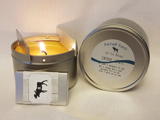 Survival Candle- Barriault Ranch