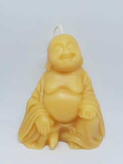 Buddha beeswax candleCandles- Barriault Ranch