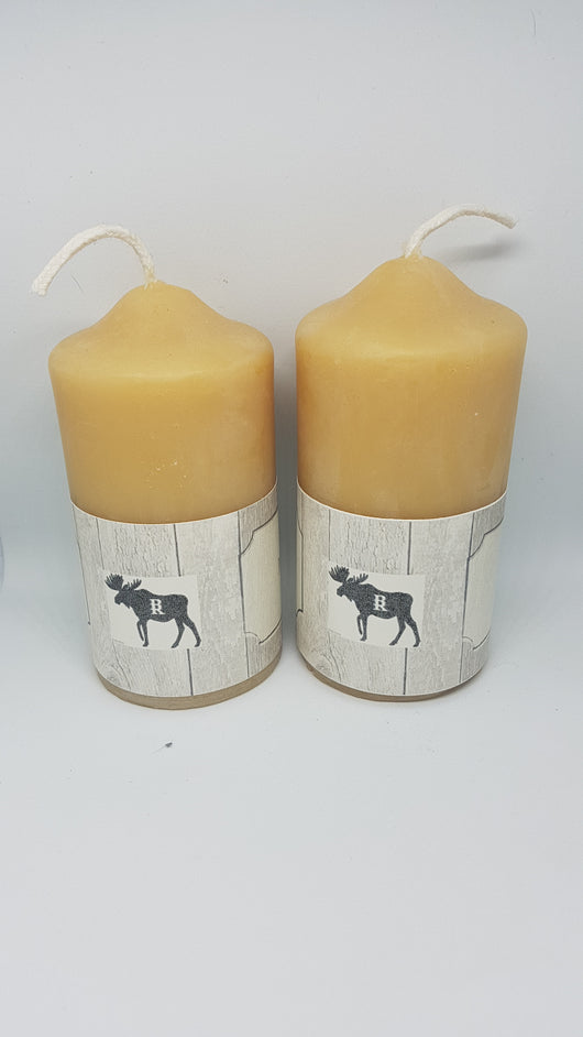Extra Small PillarCandles- Barriault Ranch