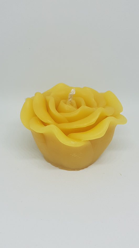 Rose Votive Beeswax CandleCandles- Barriault Ranch