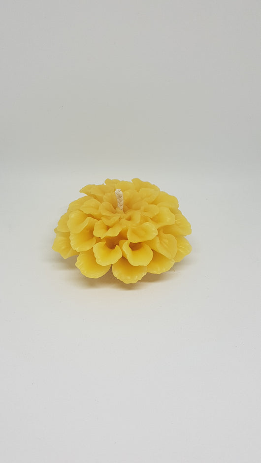 Dahlia Beeswax candle - 3