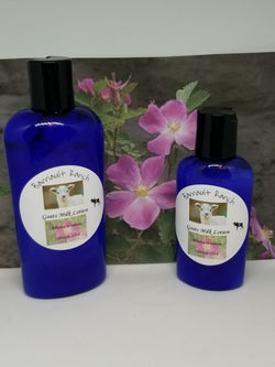 Alberta Wildrose Goats Milk LotionLotions- Barriault Ranch