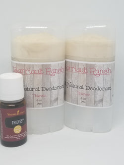 All Natural DeodorantDeodorant- Barriault Ranch