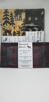 Cotton Beeswax WrapsBeeswax- Barriault Ranch