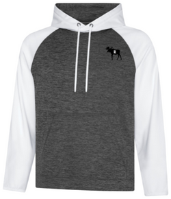 Fleece Hooded SweatshirtShirt- Barriault Ranch