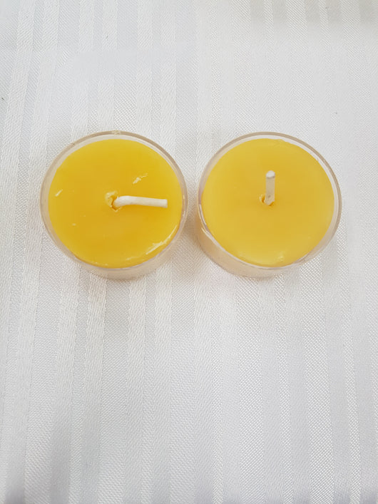 Pure Beeswax TealightsCandles- Barriault Ranch