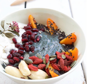 Raw By Nature Activated Charcoal Smoothie Bowl