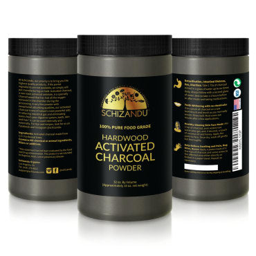 activated charcoal powder schizandu organics