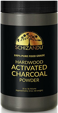 schizandu food grade activated charcoal powder