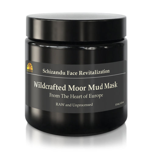 Wildcrafted Moor Mud Mask with NO ADDITIVES face mask Mud mask European filmic acid humid acid anti-aging anti-wrinkle antiaging antiwrinkle  - Schizandu