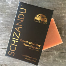 French Pink Clay Cleansing Bar soap artisan soap Schizandu