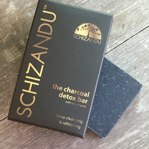 THE Charcoal Detox Bar artisan soap bar charcoal soap bar soap Schizandu