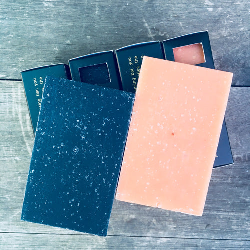 Cleansing Bars Set - Variety Family Pack, - Schizandu