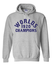"""1920 Worlds Champ 100 Year Anniversary"" Baseball Design on Gray - Only in Clev"