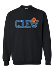 """Retro CLEV Skyline""Design on Black - Only in Clev"