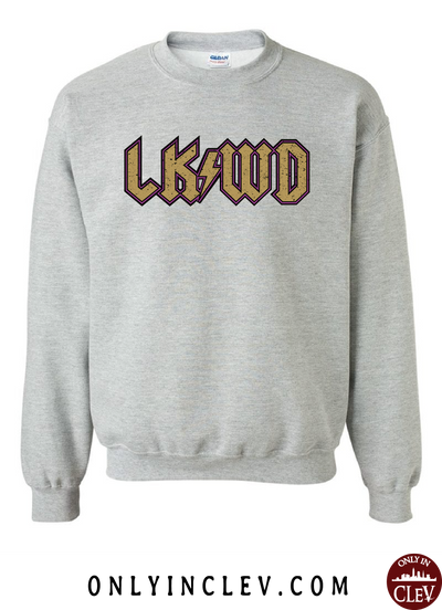 "Lakewood ""LKWD"" Design Crewneck Sweatshirt - Only in Clev"