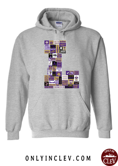 "Lakewood Neighborhood Shirt ""L Design"" Hoodie - Only in Clev"