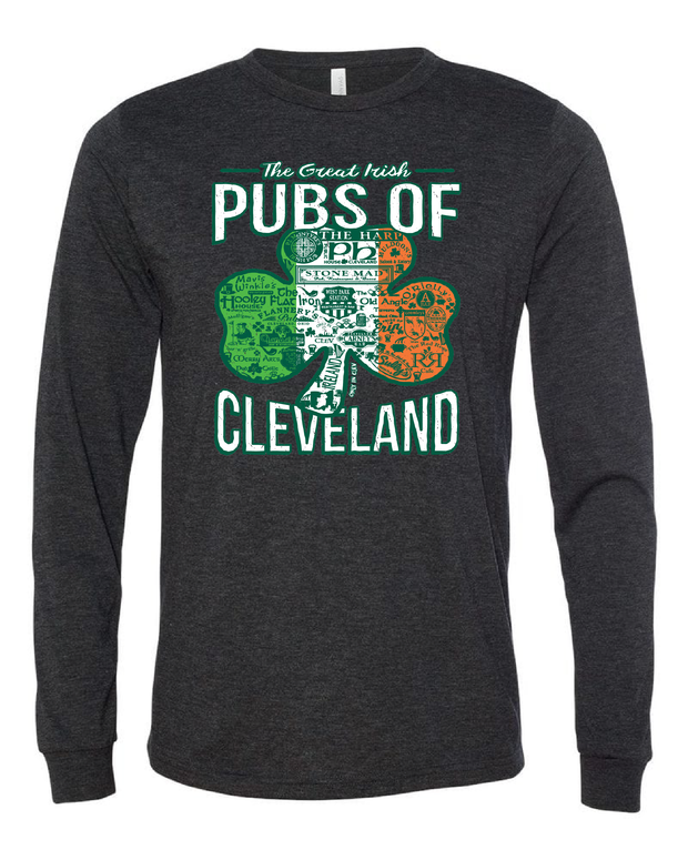 """Pubs of Cleveland"" Design on Black - Only in Clev"