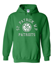 """St. Patrick WP"" Design on Green"