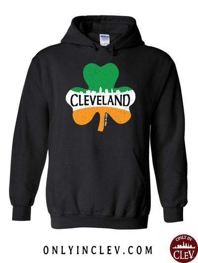 Cleveland Irish Shamrock Hoodie - Only in Clev