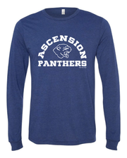 """Ascension Panthers"" Design on Navy"