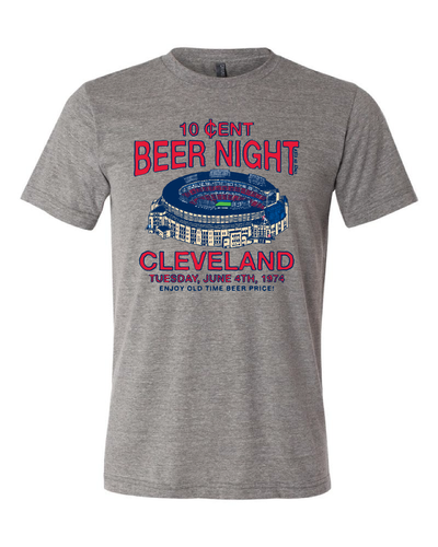 """Cleveland Beer Night"" on Gray"