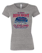 """Cleveland Beer Night"" on Gray - Only in Clev"