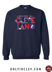 """Believe in Cleveland Baseball"" on Navy - Only in Clev"