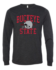 """Ohio Buckeye State"" Design on Black - Only in Clev"