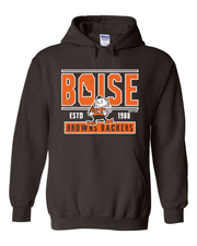 """Boise Browns Backers"" Design on Brown - Only in Clev"