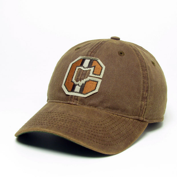 Block C Ohio on Brown Hat - Only in Clev