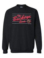 """The Script Buckeye State"" Design on Black - Only in Clev"