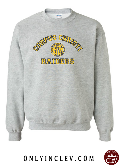 Corpus Christi Raiders Crewneck Sweatshirt - Only in Clev