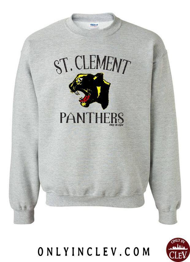 St. Clement Panthers Crewneck Sweatshirt