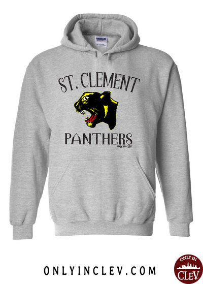 St. Clement Panthers Hoodie - Only in Clev