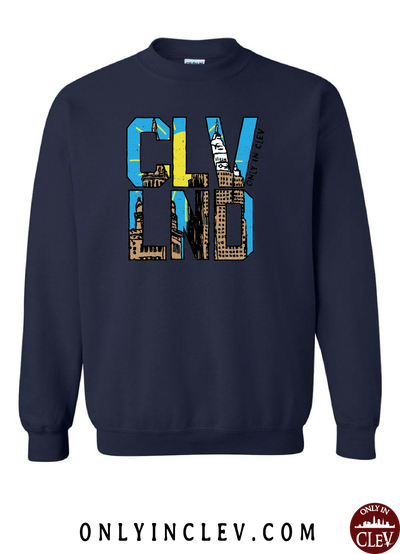 CLVND  Crewneck Sweatshirt - Only in Clev