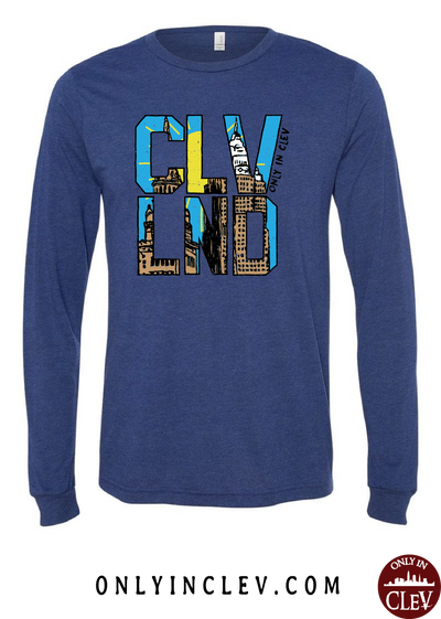 CLVND  Long Sleeve T-Shirt - Only in Clev