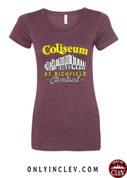 """The Coliseum"" on Maroon - Only in Clev"