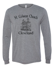 """Saint Colman Church"" Design on Gray - Only in Clev"