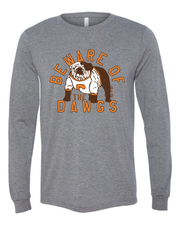"""Beware of the Dawgs"" on Gray"