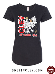 """Cleveland Dyngus Day"" design on Black - Only in Clev"