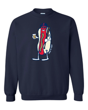 """Cleveland Dollar Dog Design"" on Navy - Only in Clev"